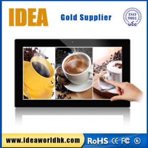 Cheap OEM 21.5 Inch HD 1080P Capacitive Advertising Display pictures & photos