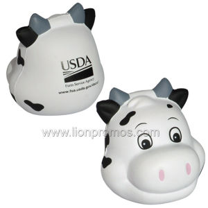 Lovely Promotional Gift PU Cow Model pictures & photos