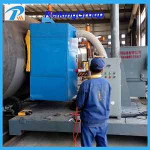 Inner Outer Wall Shot Blast Cleaning Machine with Abrasive Recovery System pictures & photos