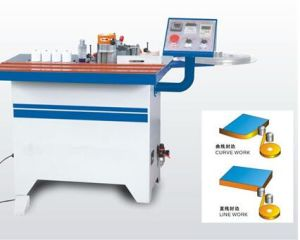 Curve and Double-Sided Gluing Edge Banding Machine pictures & photos