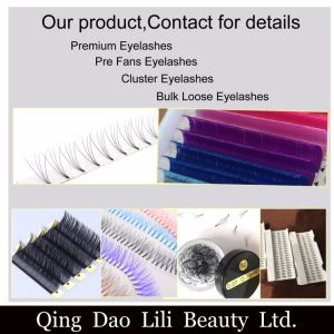 Lili Beauty Factory Volume Lash Fans Individual Lashes Knot Free Cluster Eyelashes for Sale pictures & photos