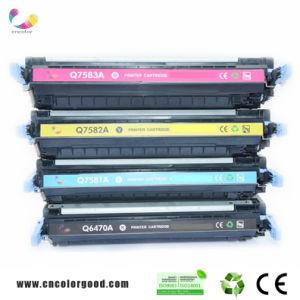 Q7581 Remanufacture Toner Cartridge for HP Q7581A Color Toner Cartridge pictures & photos