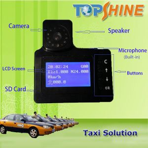 Newest Hot Built-in Camera LCD Screen GPS Taxi Tracker Ta680 pictures & photos