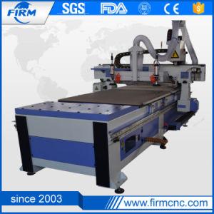 Hoe Sale! High Quality CNC Router Wood Cutting Machine FM1325L-Atc pictures & photos