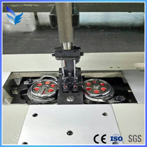 Long Arm One/Double Needle Industrial Sewing Machine for Bamboo Mat Du4420-L40 pictures & photos