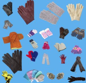 Wholesalewinter Warm Fashion Knitted Colored Cotton Glove pictures & photos