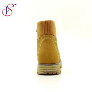 Three Color Men Women Safety Working Work Boots Shoes Sv-Wk-005-Tan pictures & photos