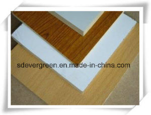 High Quality Wood Grain Melamine MDF with Cheap Price pictures & photos
