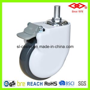 High Quality Swivel Screw Locking Medical Castor (L135-34E100X30S) pictures & photos