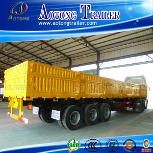 3 Axles Van Type Wagon Truck Trailer for Sale pictures & photos