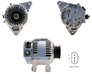 12V 80A Alternator for Denso Lexus Lester 13558 101211-5620 pictures & photos