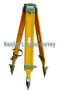 Wooden Tripod for Sokkia Total Station Survey (LJW10S) pictures & photos