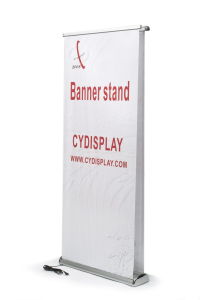 Motor-Driven Aluminum Roll up Display (CY-RS-29) with SGS Certification pictures & photos
