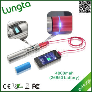 High Capacity Battery, Clearomizer Resistance1.5~5.0ohm E-Huge