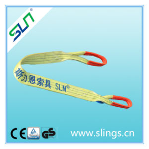 3t*5m Double Eye Webbing Sling Safety Factor 6: 1 pictures & photos