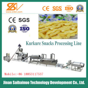 Ce Standard Full Automatic Corn Snacks Kurkure Processing Machinery pictures & photos