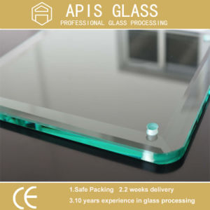 Grinding, Drilling Holes, Sawing, Polishing, CNC, Water Jet Cut Outs, Notch Grinding Tempered Glass pictures & photos
