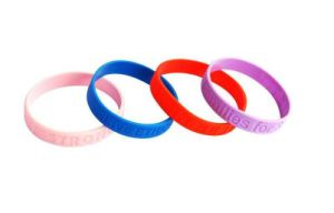 High Quality Silicone Wrist Band, Promotional Silicone Wristband pictures & photos