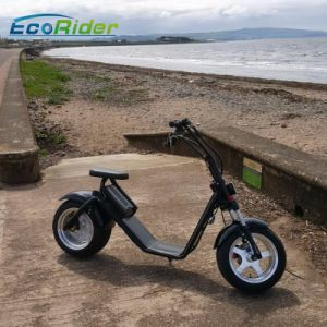 High Quality 1200W 60V/12ah Brushless Adult Electric Harley Scooter pictures & photos
