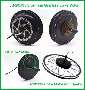Czjb Europe 48V 1000W Front Wheel Electric Bicycle Conversion Kit pictures & photos