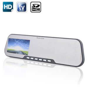 2.7 Inch 30fps 720p HD Car Mirror Monitor and HD DVR