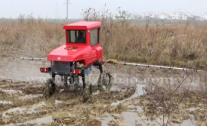 Aidi Brand 4WD Hst Self-Propelled Power Boom Sprayer for Dry Land pictures & photos