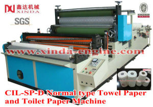 Kitchen Towel Paper and Toilet Paper Roll Machine pictures & photos
