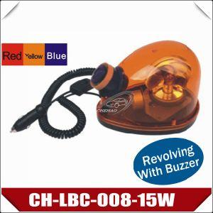 15W Revolving Halogen Beacon Strobe Light with Buzzer (CH-LBC-008-15W)