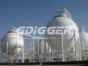 2000m3 Polypropylene Spherical Tank