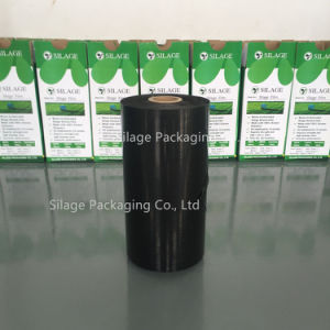 Black/Green/White Stretch Wrap Film Width 250mm/500mm/750mm Length 1500m/1800m Thickness 25um pictures & photos