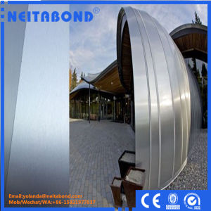 4*0.50mm Fire Resistance B1 Grade Aluminum Composite Panel for Exterior Wall pictures & photos
