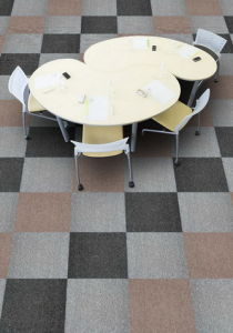 Antifouling Tufted PP Carpet Tile/PVC Backing pictures & photos