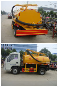 Mini Fecal Suction Truck with 2000L Capacity pictures & photos