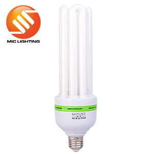 4u 45W, 55W, 65W, 85W, 105W Dia. 14.5mm Tricolor CFL Bulb with CE