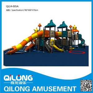 Kids Playground Equipment/Outdoor Playground (QL14-043A) pictures & photos