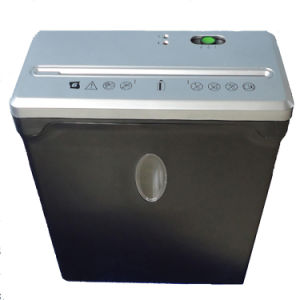 6 Sheets Cross Cut Paper Shredder (FX60Be-Silver)