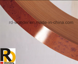 High Glossy Solid Color Wood Grain Color PVC Edge Banding pictures & photos