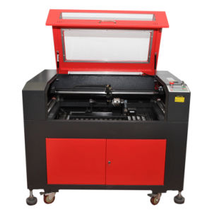 Laser Glass Engraving Machine (GY-9060E) pictures & photos