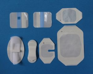 Disposable Cannula Adhesive Dressing (wp11-18) pictures & photos