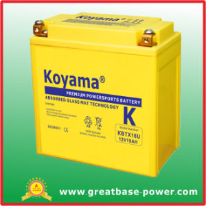 Lead Acid Motorcycle Battery 12V 20ah pictures & photos