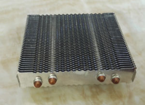 Copper Sintered Heat Pipes Heat Sink pictures & photos