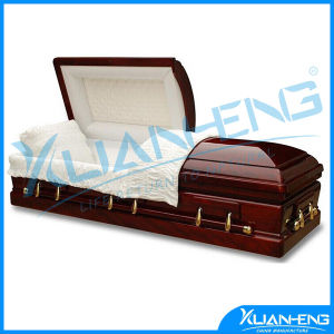 Professional Funeral Manufacturer Product Cardboard Coffin pictures & photos