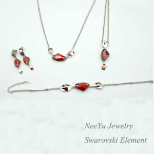 Newest 925 Silver / Stainless Steel Fashion Jewelry Set S6