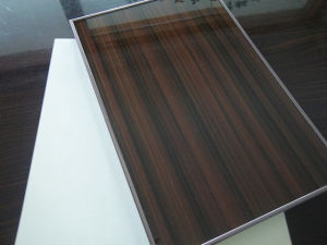 High Glossy Woodgrain UV Polymer Acrylic MDF Sheet for Kitchen Shutters
