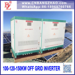 Factory Derect Sale Solar Plant Invertors 150kw Single Phase Output pictures & photos