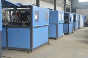Full Automatic Two Cavities Pet Jar Blow Molding Machine pictures & photos