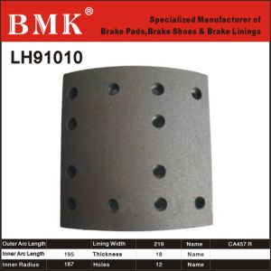 Adanced Quality Brake Lining (LH91010) for Chinese Car pictures & photos