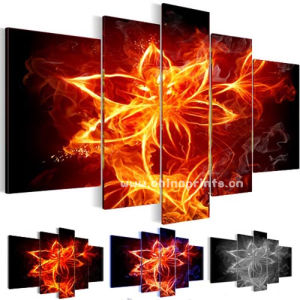 Abstract Flower Art Prints for Decoration (SJMD3849)
