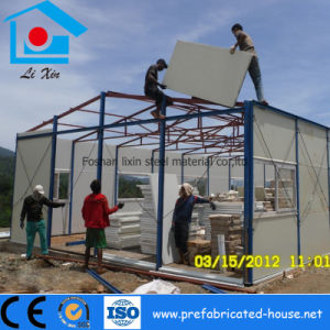 EPS Color Steel Sandwich Panel for Prefab Steel Building pictures & photos