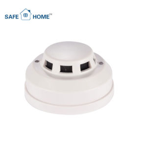 Wired Photoelectric Fire Alarm Smoke Detector for Home Security